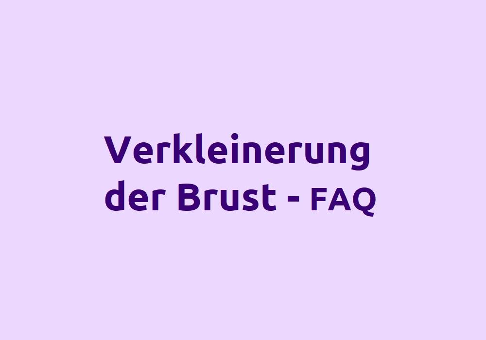 Häufige Fragen zur Brustverkleinerung - FAQ